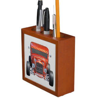 Customized Hot-rod Car Desk Organisers