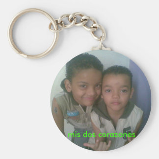 customized key rings basic round button key ring