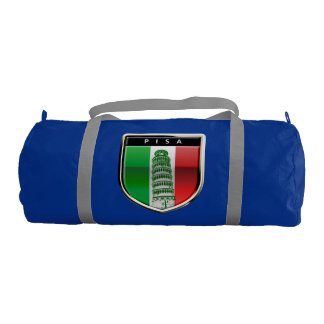 Customized Leaning Tower of Pisa Gym Duffel Bag