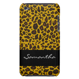 Customized Leopard Animal Print iPod Touch Cases