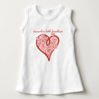 Customized Little Sweetheart Sleeveless Baby Dress