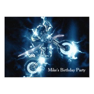 Customized Motocross Invitation