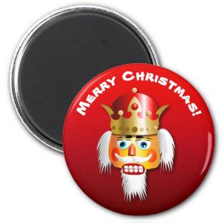 Customized Nutcracker King Cartoon 6 Cm Round Magnet