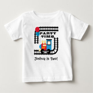 Customized Party Time Train T-shirt