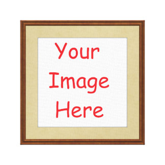 Customized personalized framed add your picture to canvas print