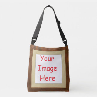 Customized personalized printed frame picture - crossbody bag