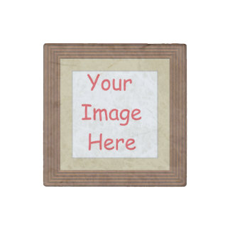 Customized personalized printed frame picture - stone magnet