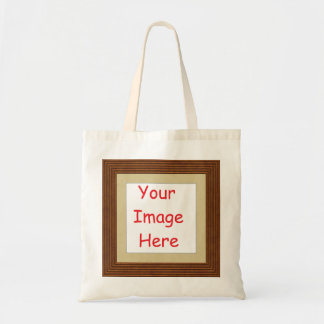Customized personalized printed frame picture - tote bag