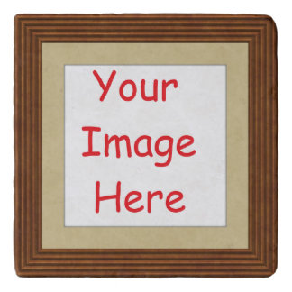 Customized personalized printed frame picture - trivet
