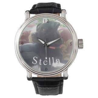 Customized Photo Name Watch
