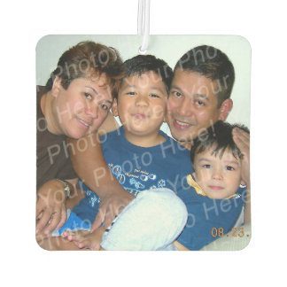 Customized Photo New Car Air Freshener