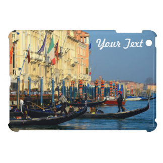 Customized Picture of Gondolas From Venice, Italy Case For The iPad Mini