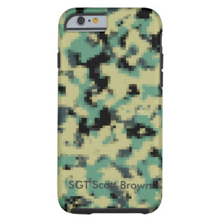 Customized Pixelated iPhone Case Army
