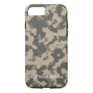 Customized Pixelated iPhone Case Army Universal