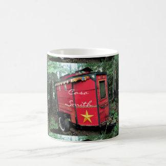 Customized Red Gypsy tiny caravan Coffee Mug