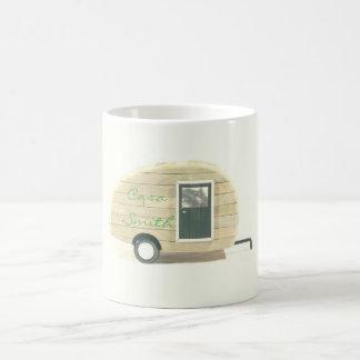 Customized Retro teardrop camper Coffee Mug
