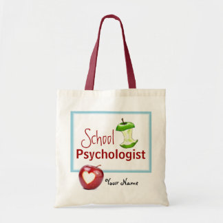 Customized School Psychologist Tote