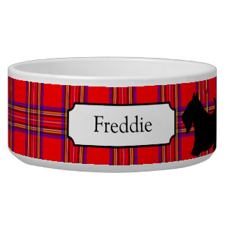 Customized Scottish Terrier Pet Bowl