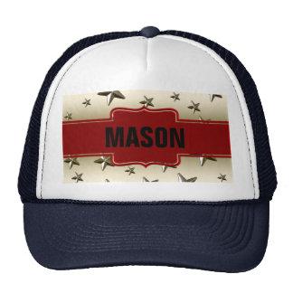 Customized Shiny Gold Stars Trucker Hat