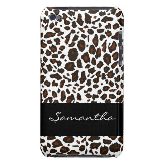 Customized Snow Leopard Animal Print iPod Touch Case-Mate Case