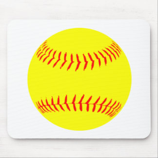 Customized Softball Mouse Pad