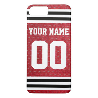 Customized Sports Hockey Jersey iPhone 8 Plus/7 Plus Case