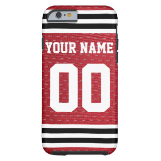 Customized Sports Hockey Jersey Tough iPhone 6 Case