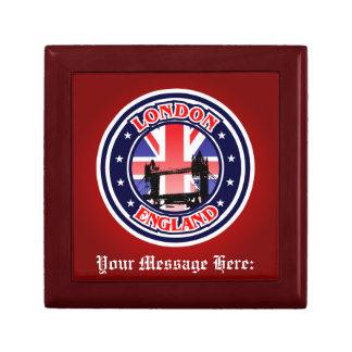 Customized Tower Bridge Small Square Gift Box