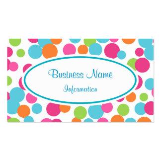 Customized Vibrant Business Card