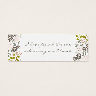 Customized Wedding Invitation Embellishment Tag