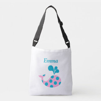 Customized Whale Tote Bag