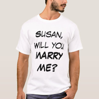 Customized Will you MARRY ME? T-Shirt