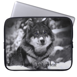 Customized Wolf Laptop Case Laptop Computer Sleeve