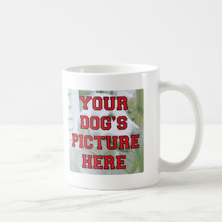 Customized Your Dog's Photo Coffee Mugs
