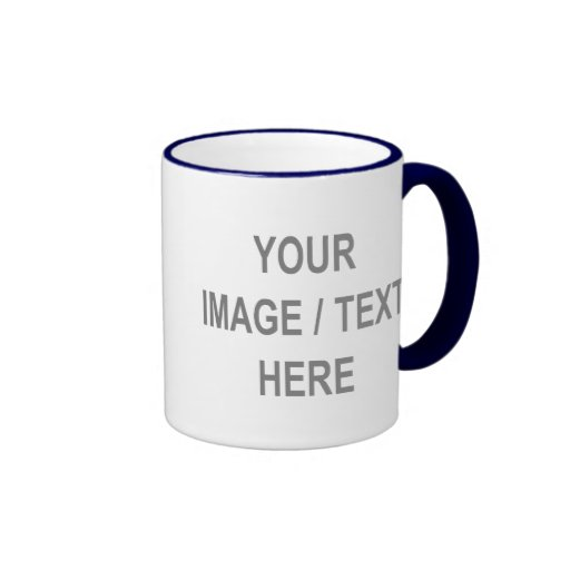 Customized Your Image-Text Here Coffee Mugs