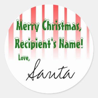 CustomizeIt! Santa sticker