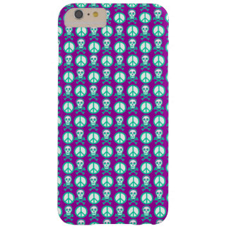 Customziable Skully Peace Barely There iPhone 6 Plus Case