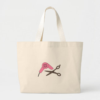 Cut and Dry Large Tote Bag