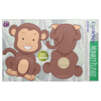 Cut and Sew: Jungle Monkey Fabric
