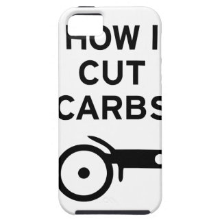 Cut Carbs iPhone 5 Cases