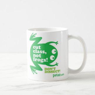 Cut Class, Not Frogs Mug