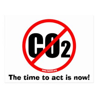 Cut CO2 Postcard