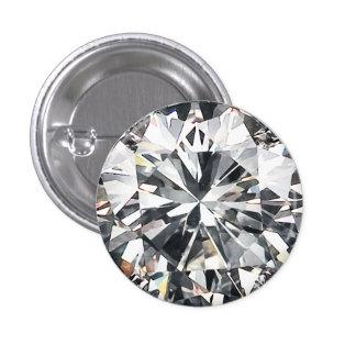 Cut Diamond 3 Cm Round Badge