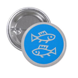 CUT FISH Cartoon KIDS Pet Greetings GIFTS 3 Cm Round Badge