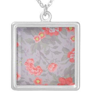 Cut Flowers Necklace