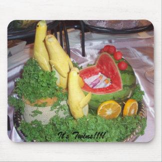 Cut Fruit It s Twins Mouse Pad