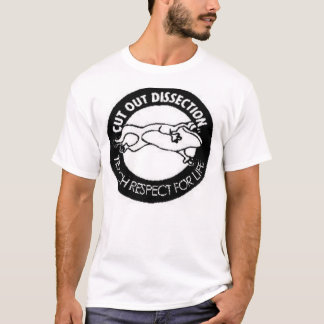 Cut out dissection T-Shirt