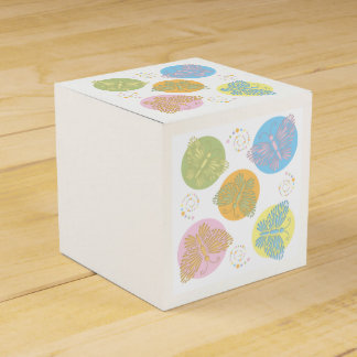 Cut Out Pastel Butterfly Favour Box