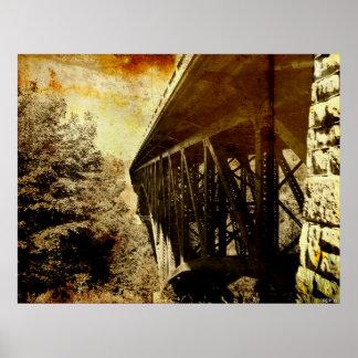 Cut River Bridge Print