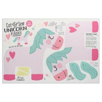 Cut & Sew Unicorn Fabric - Fun DIY Plush